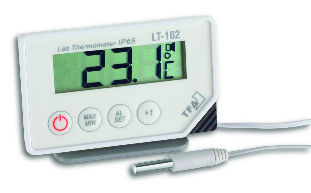 Дигитален термометар со сонда за мерење температура во фрижидери со аларм функција (LT-102) Image