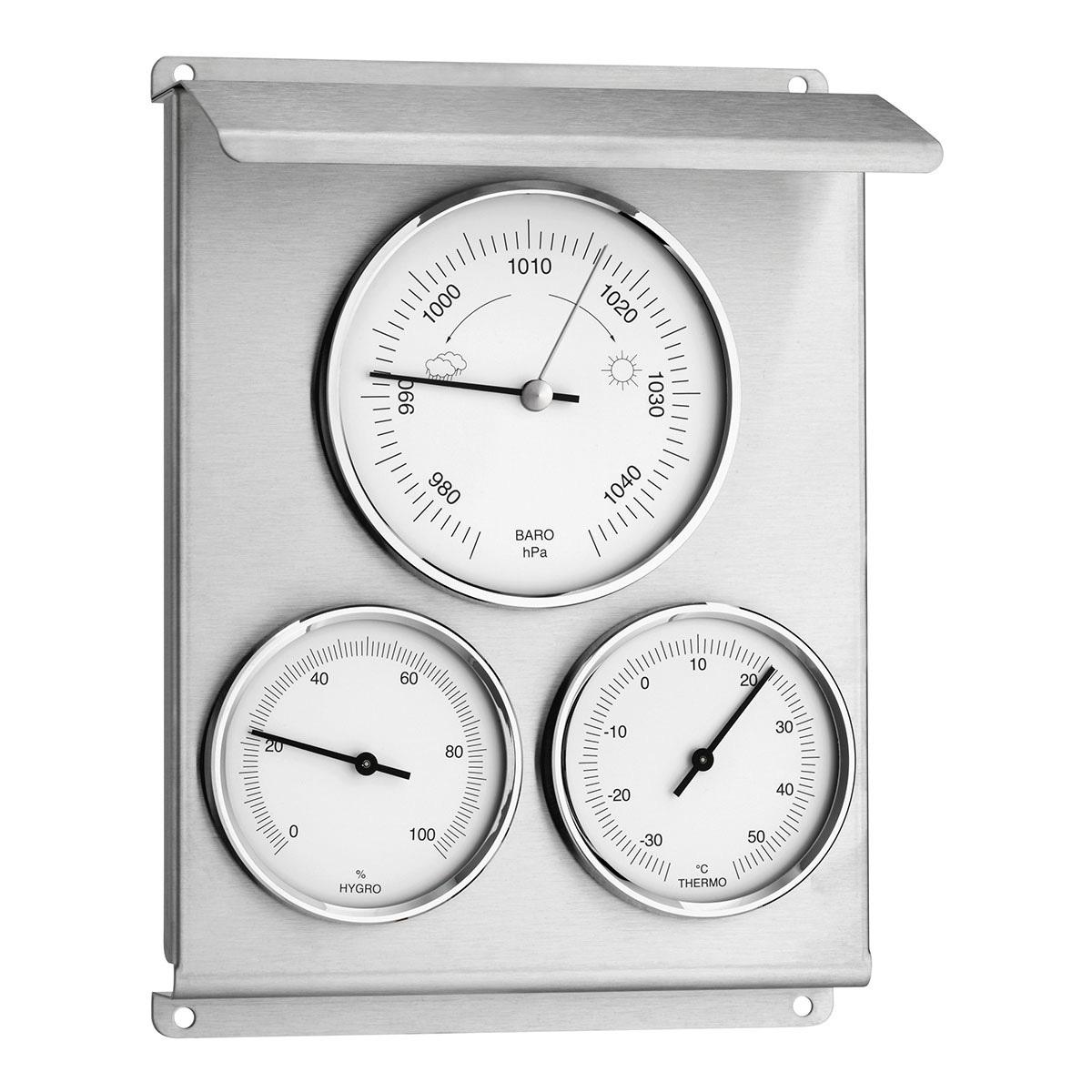Аналоген термо/хигро/барометар за надворешна употреба Image